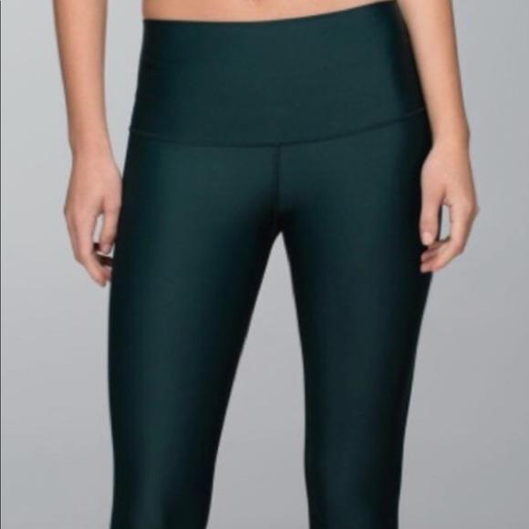 2b3b8908cb lululemon athletica Pants | Lululemon Shine Tight Dark Green | Poshmark